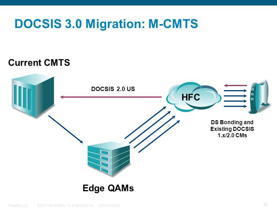 DOCSIS 3.0 Migration: M-CMTS