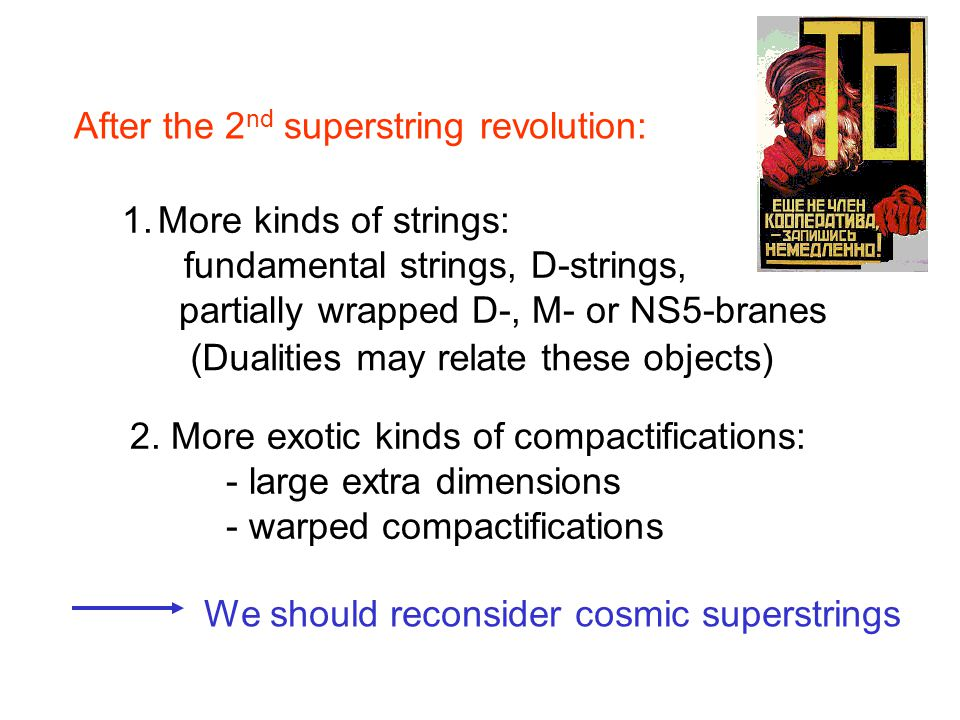 After the 2nd superstring revolution: