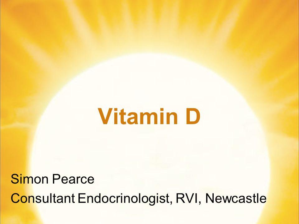 Simon Pearce Consultant Endocrinologist, RVI, Newcastle
