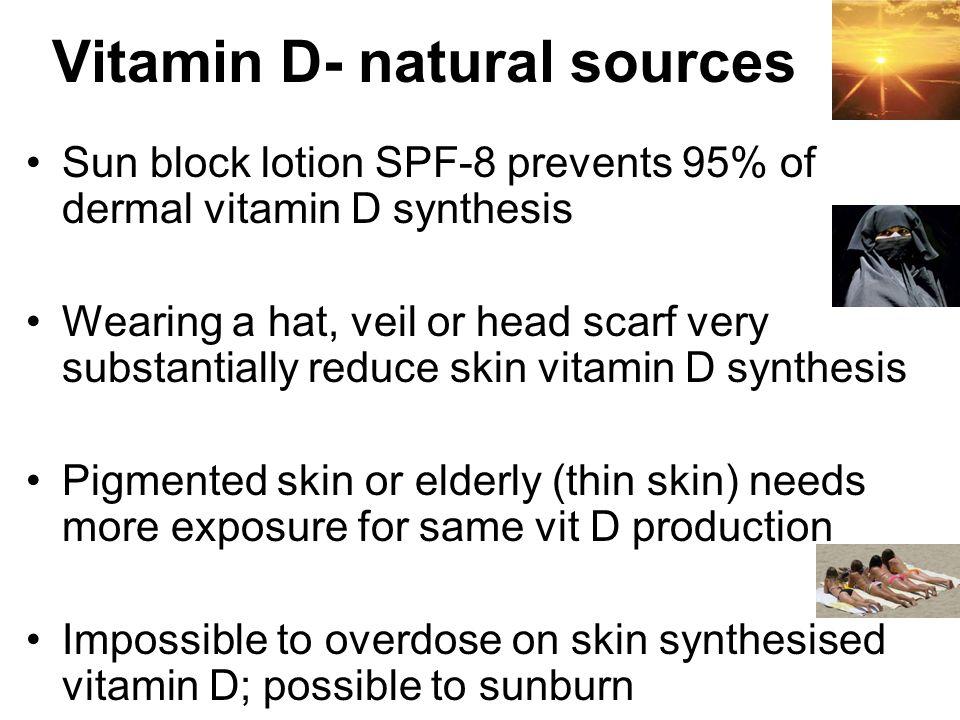 Vitamin D- natural sources