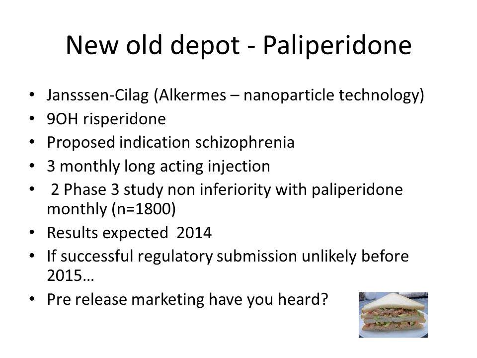 New old depot - Paliperidone