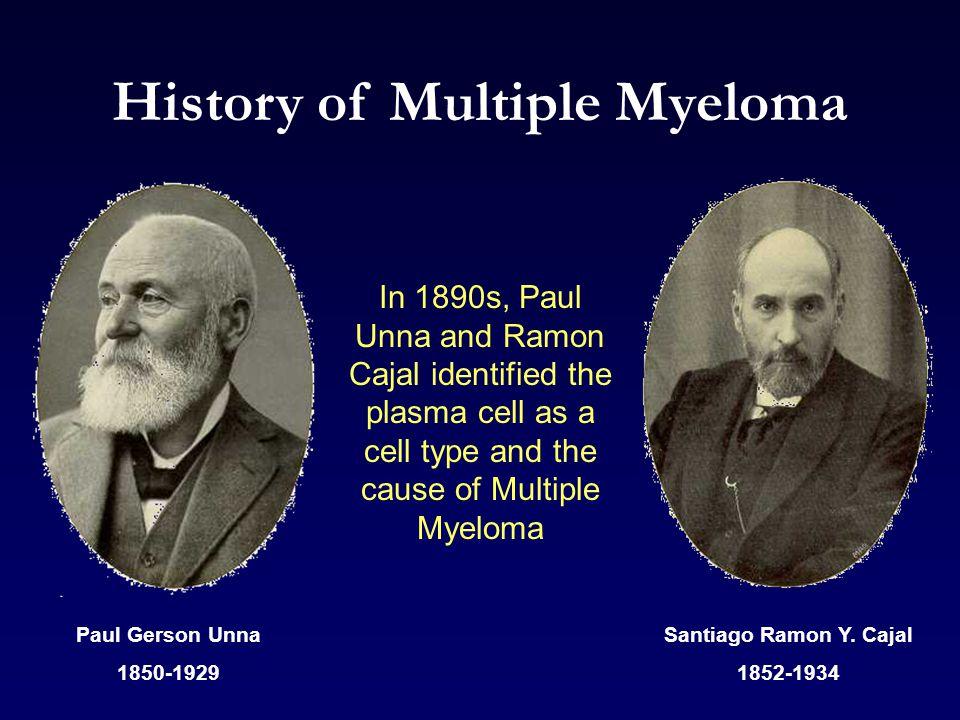 History of Multiple Myeloma