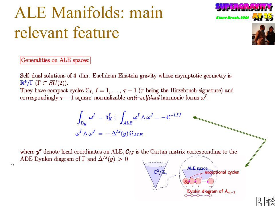 ALE Manifolds: main relevant feature