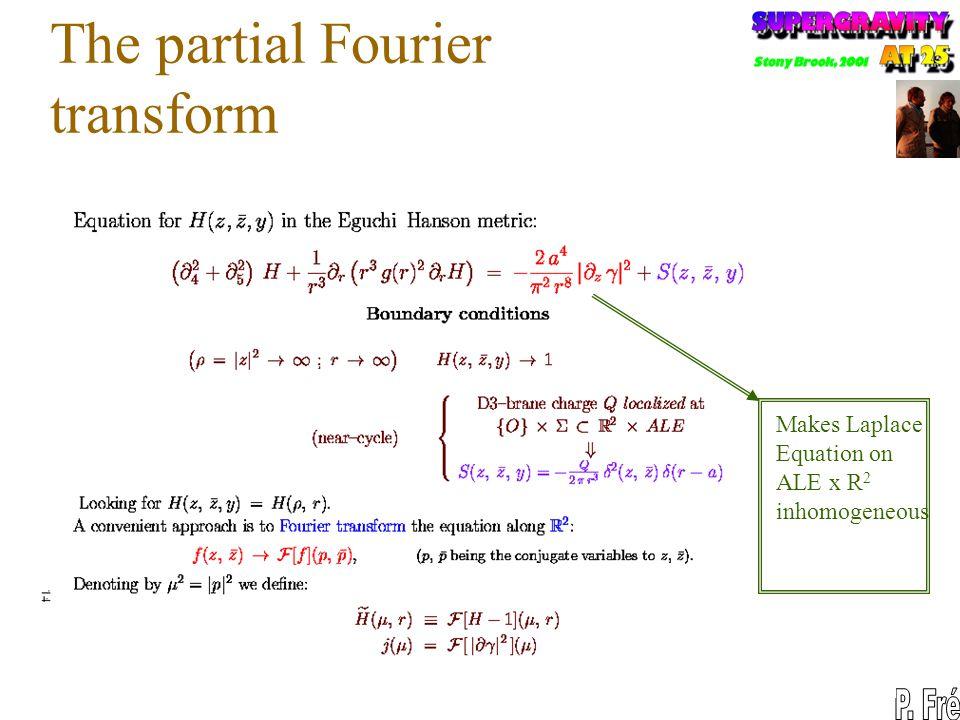 The partial Fourier transform