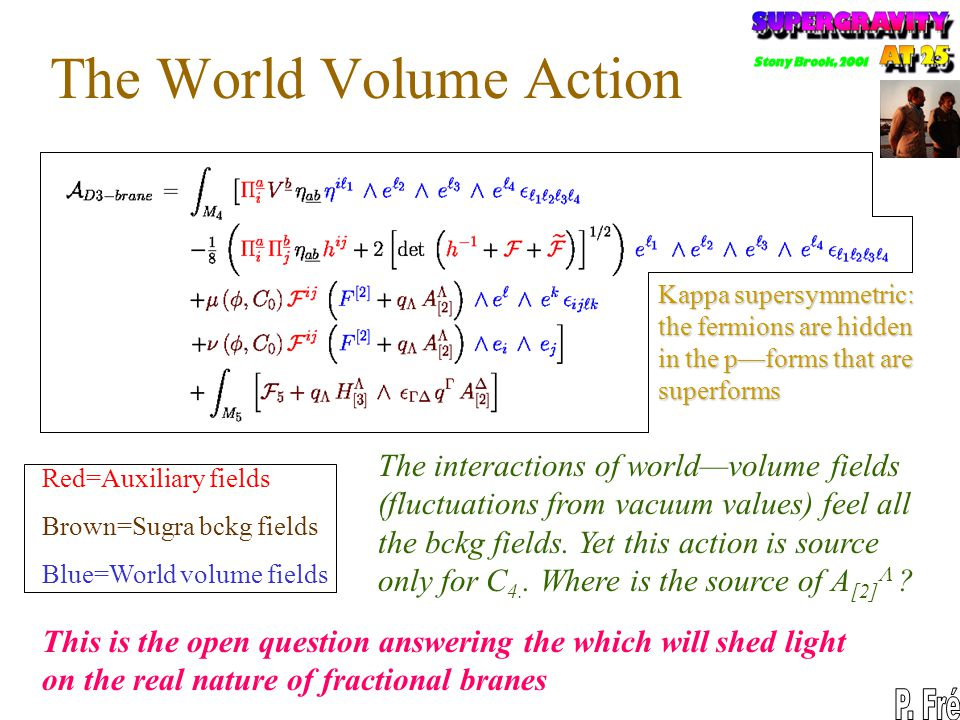 The World Volume Action