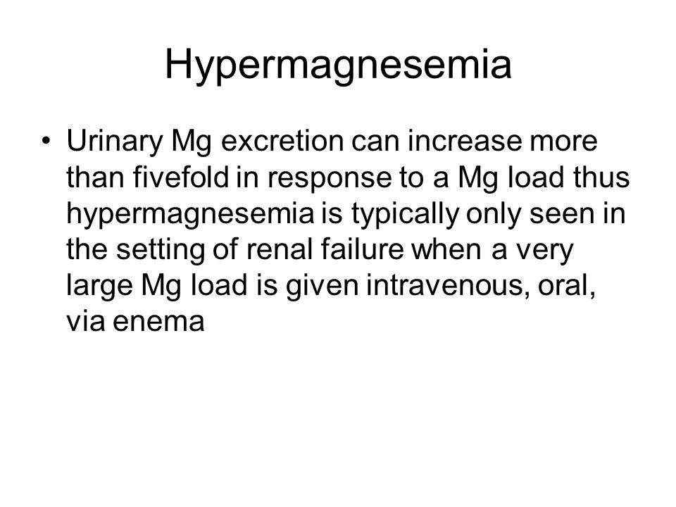 Hypermagnesemia