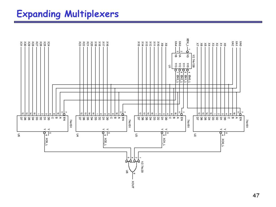 Expanding Multiplexers