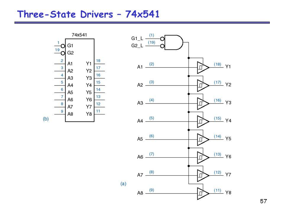 Three-State Drivers – 74x541