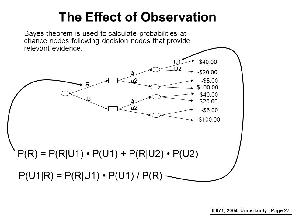 The Effect of Observation