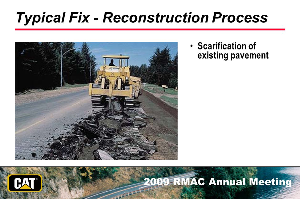Typical Fix - Reconstruction Process