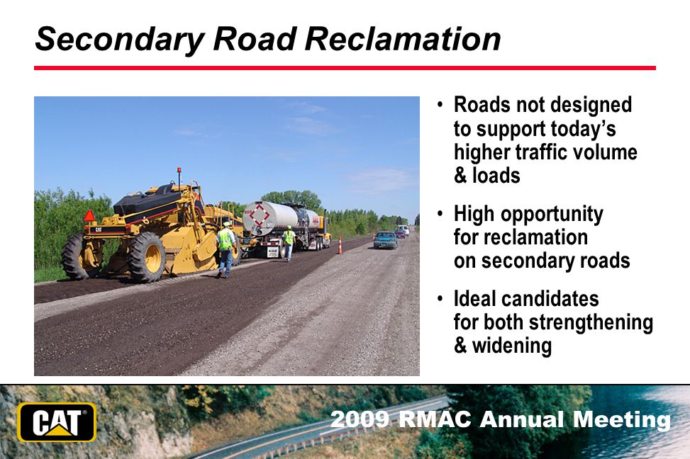 Secondary Road Reclamation