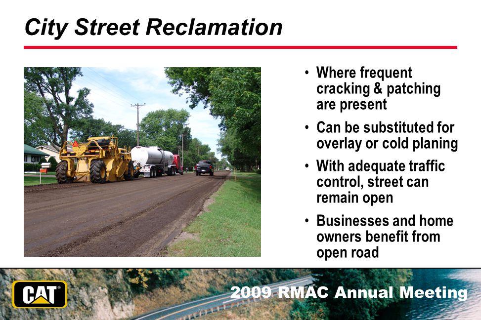 City Street Reclamation