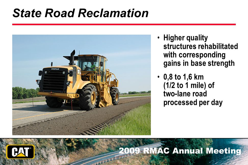 State Road Reclamation