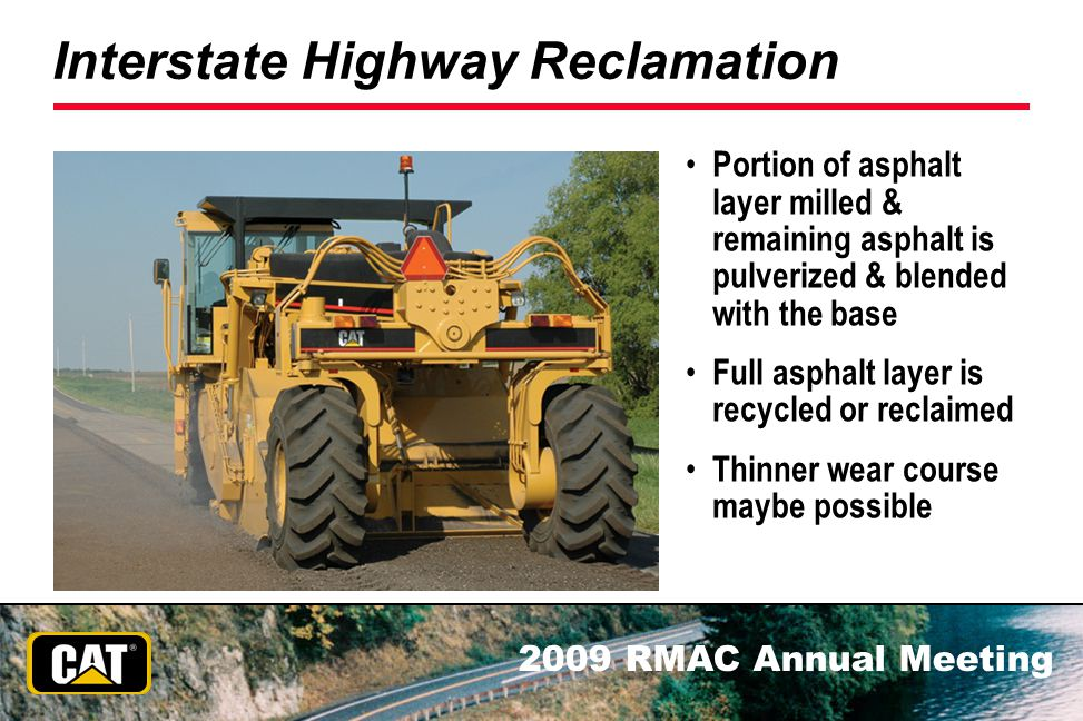 Interstate Highway Reclamation