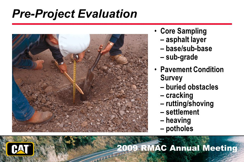Pre-Project Evaluation