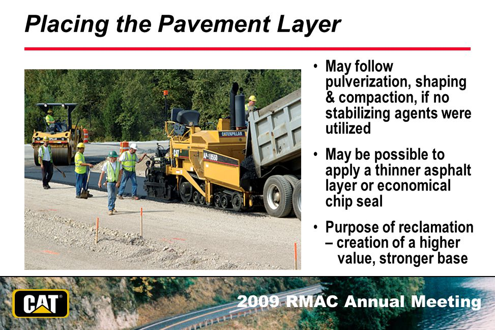 Placing the Pavement Layer