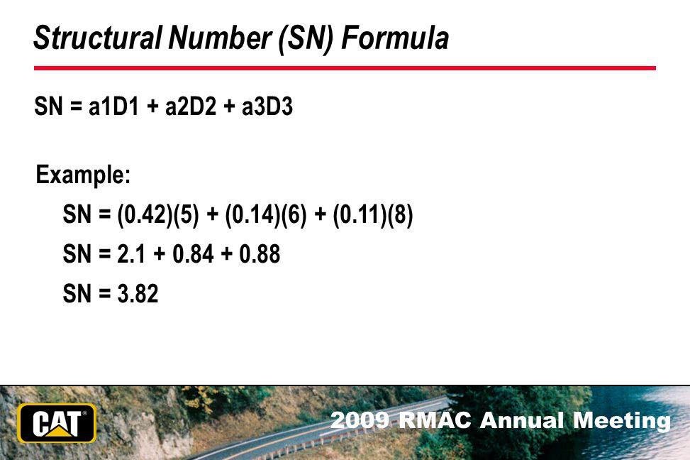 Structural Number (SN) Formula