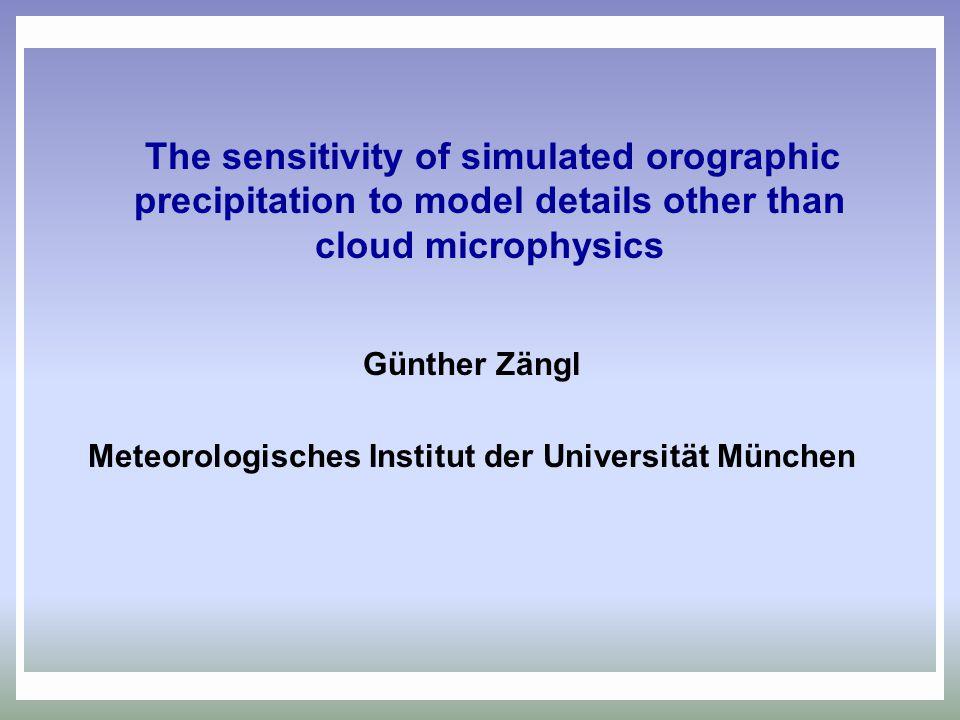Meteorologisches Institut der Universität München