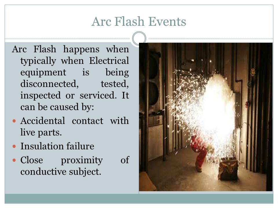 Arc Flash Events
