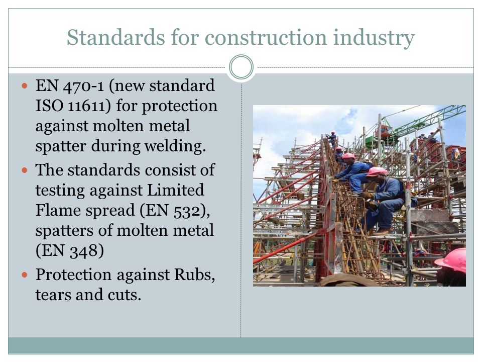 Standards for construction industry