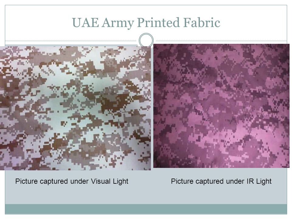 UAE Army Printed Fabric