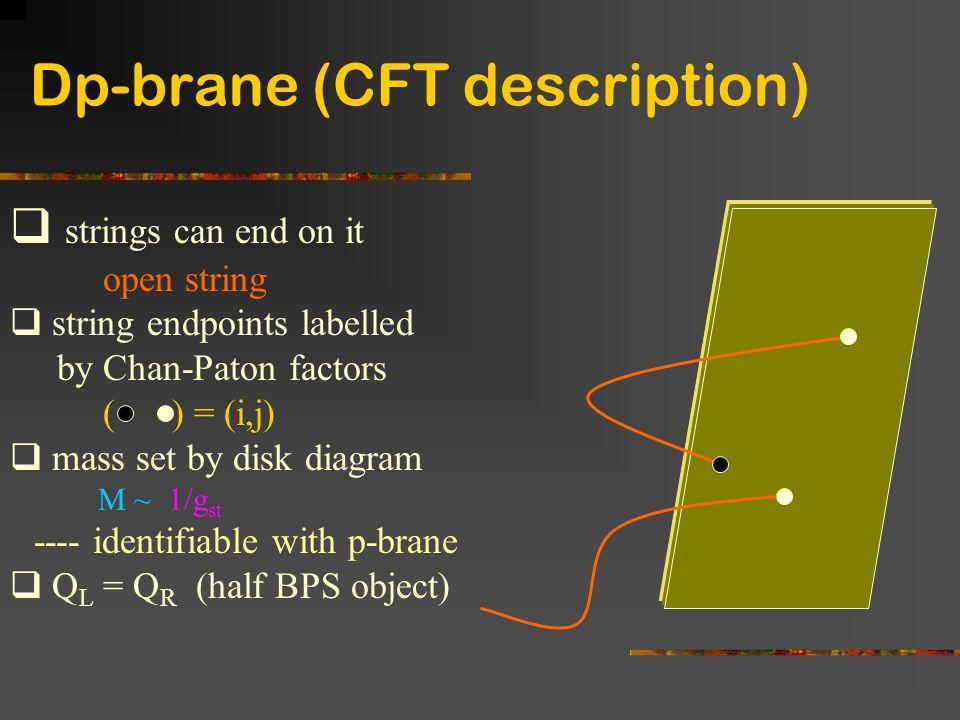 Dp-brane (CFT description)