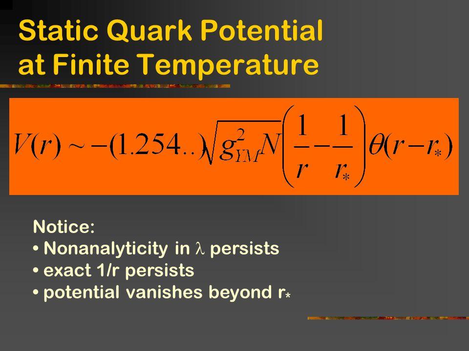 Static Quark Potential at Finite Temperature