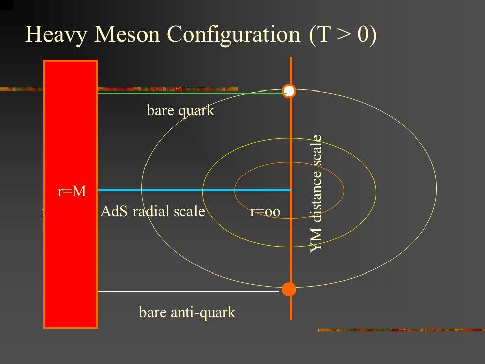 Heavy Meson Configuration (T > 0)
