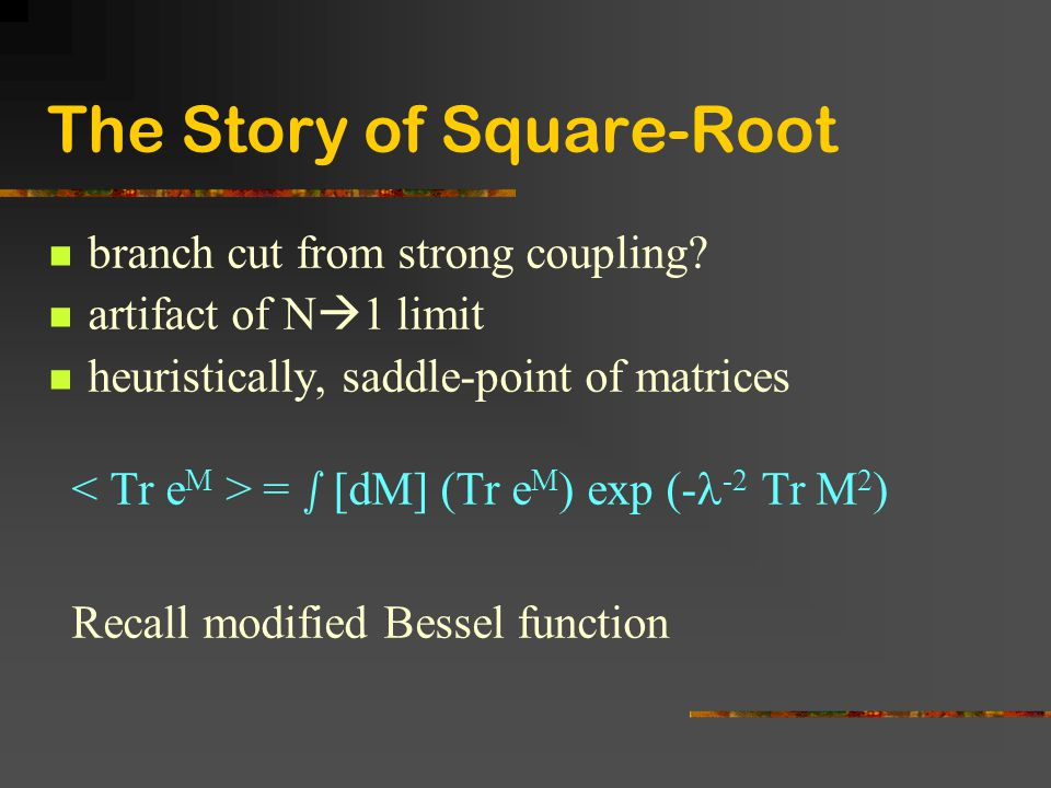 The Story of Square-Root