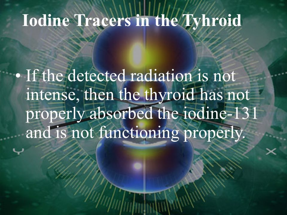 Iodine Tracers in the Tyhroid