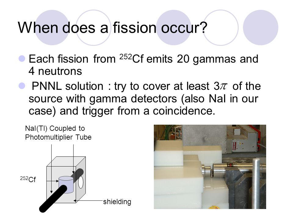 When does a fission occur