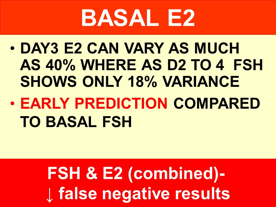 ↓ false negative results