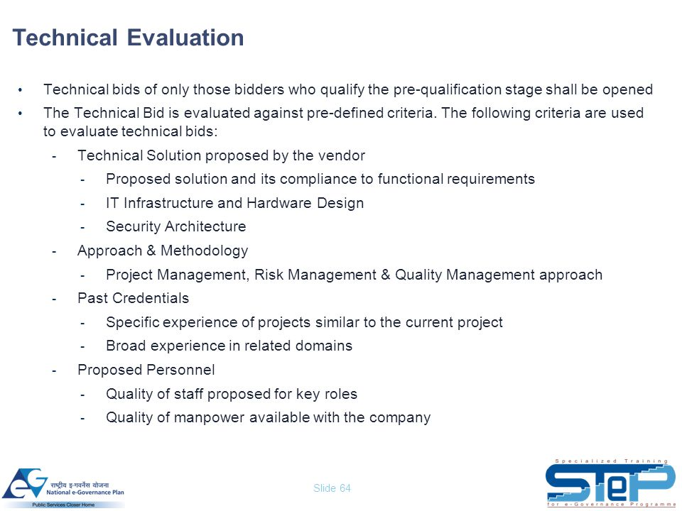 Technical Evaluation Technical Presentation Evaluation Form