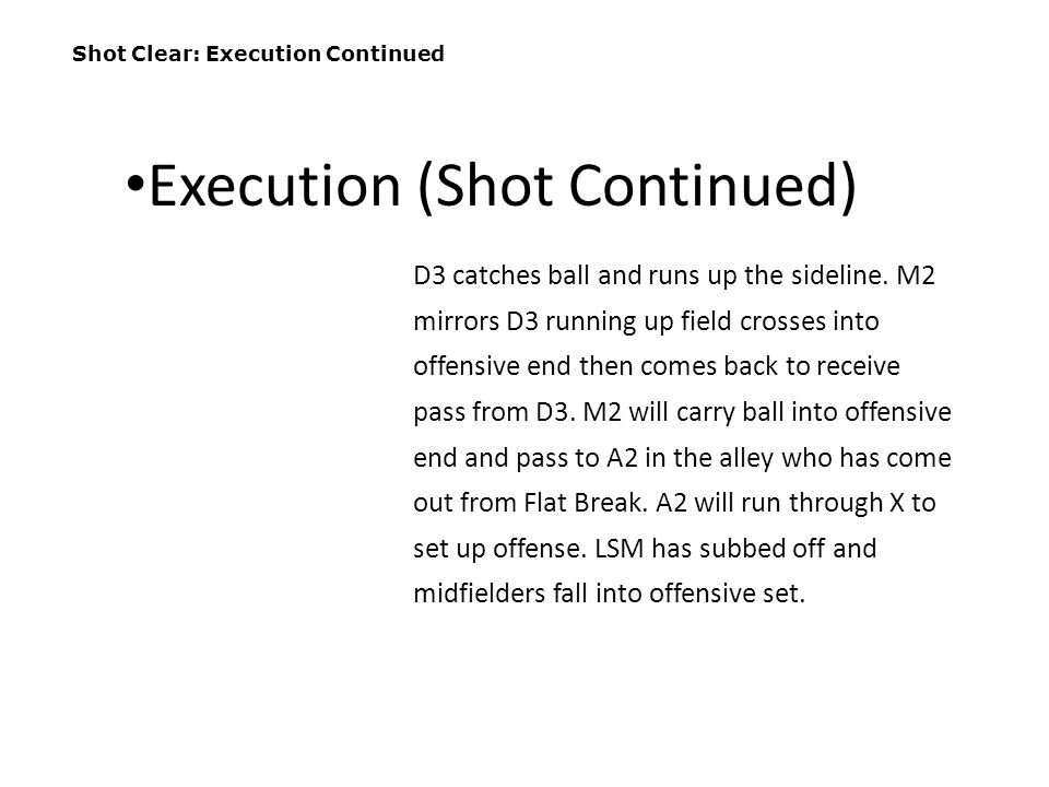Execution (Shot Continued)
