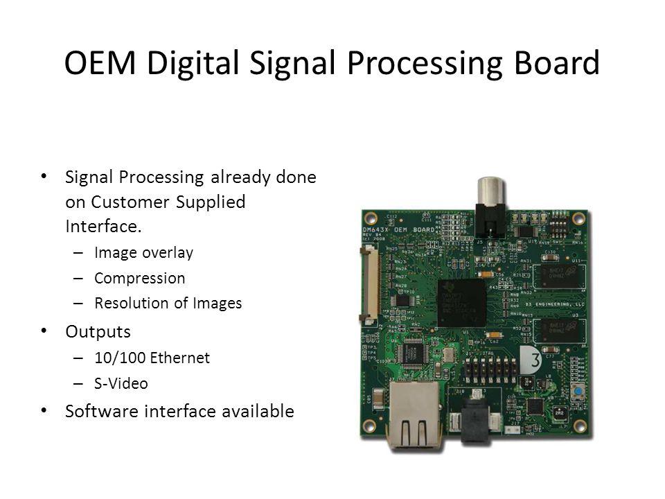 OEM Digital Signal Processing Board