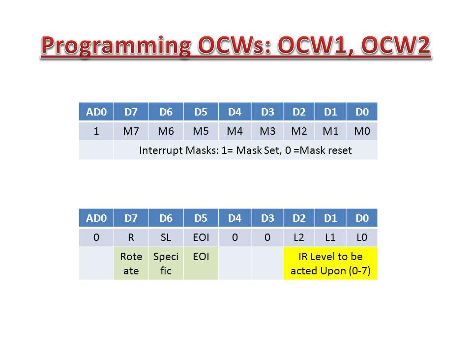 Programming OCWs: OCW1, OCW2