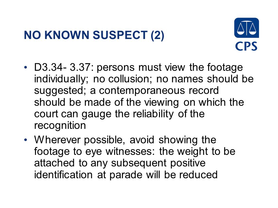 NO KNOWN SUSPECT (2)