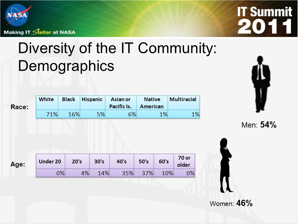 Diversity of the IT Community: Demographics