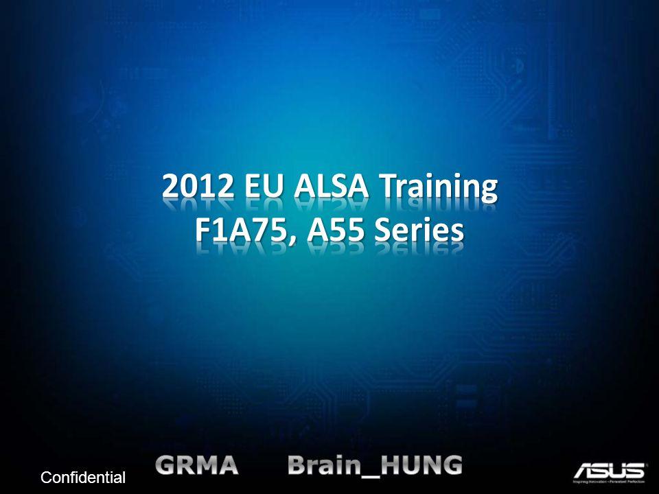 2012 EU ALSA Training F1A75, A55 Series