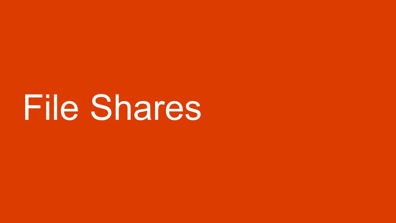 File Shares