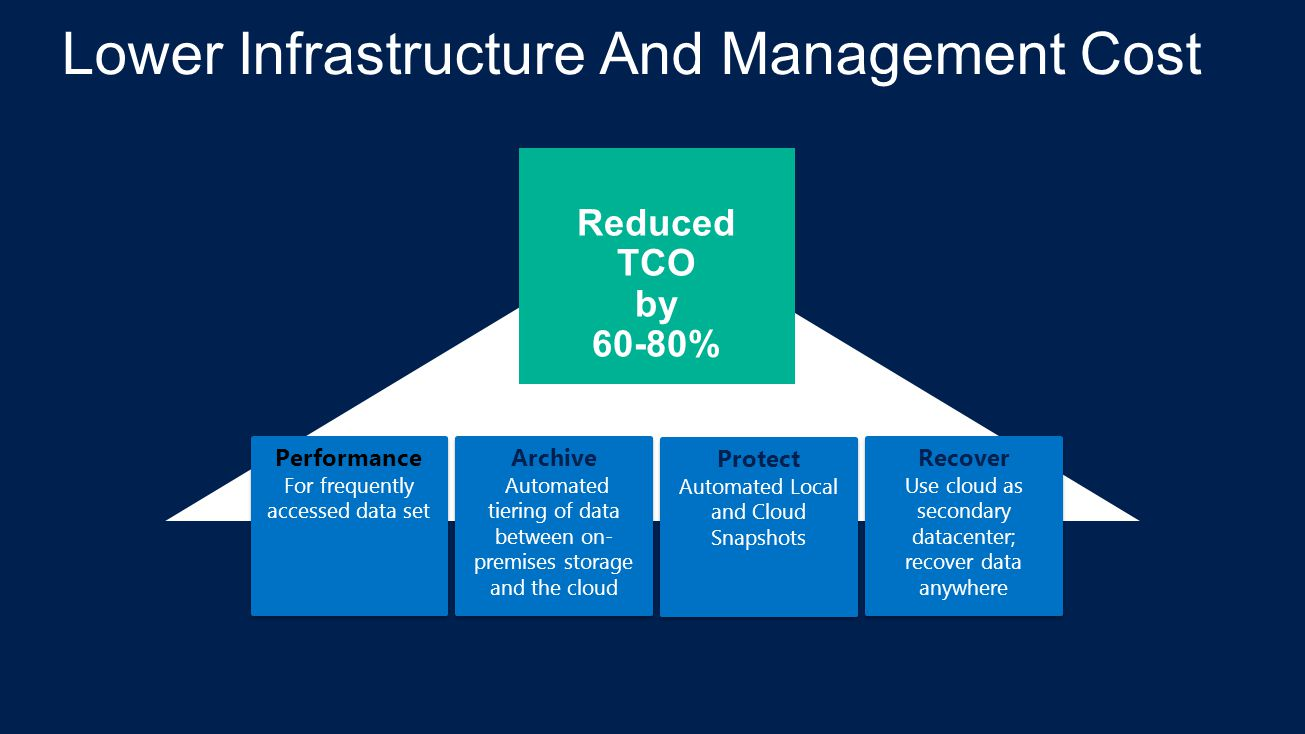 Lower Infrastructure And Management Cost