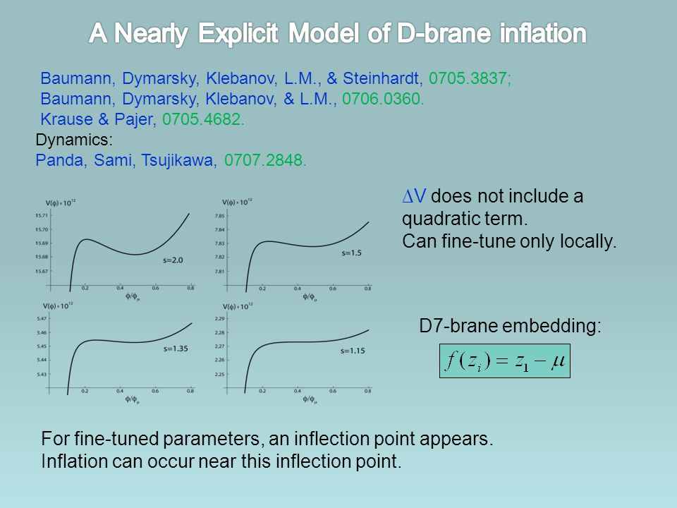A Nearly Explicit Model of D-brane inflation