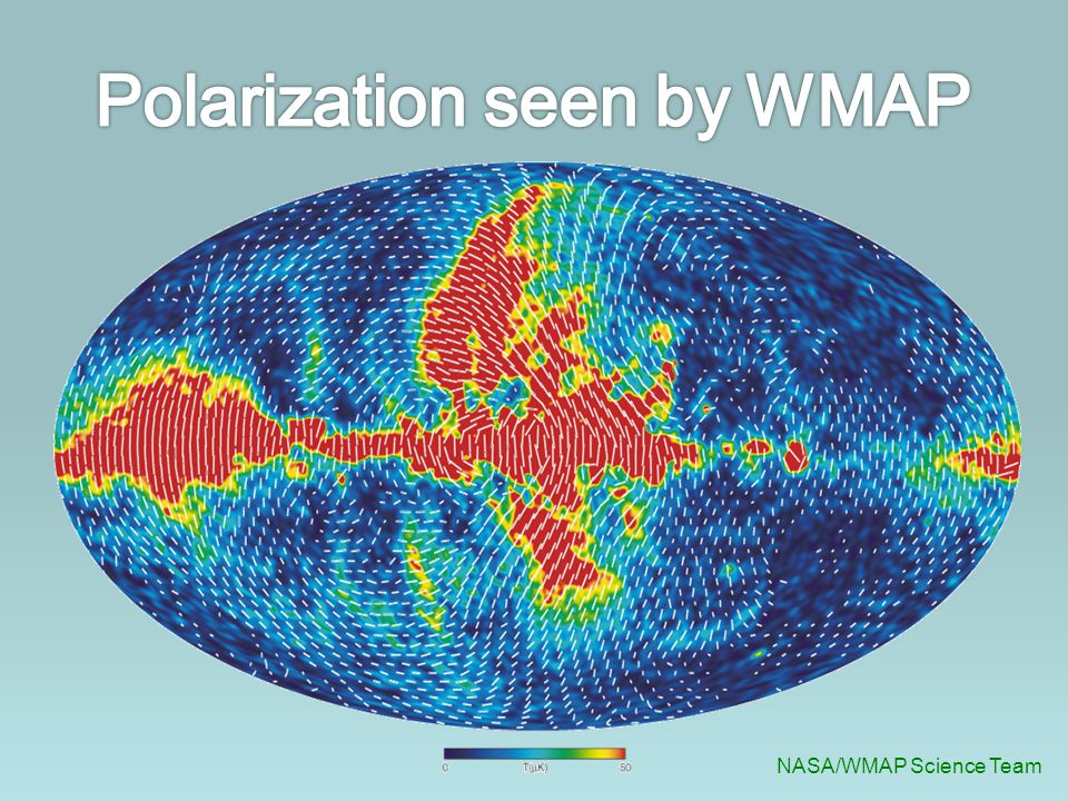 Polarization seen by WMAP