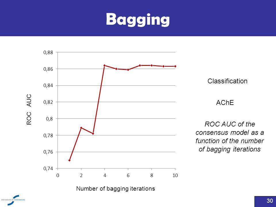 Bagging Classification AChE