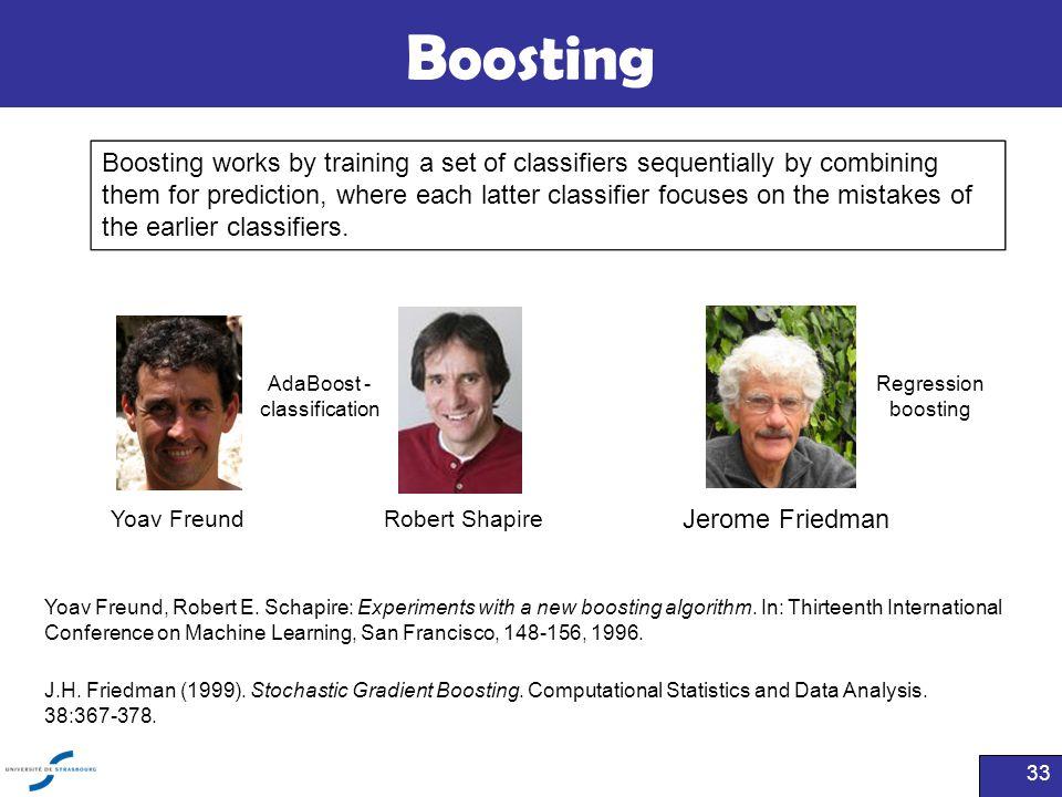 AdaBoost - classification
