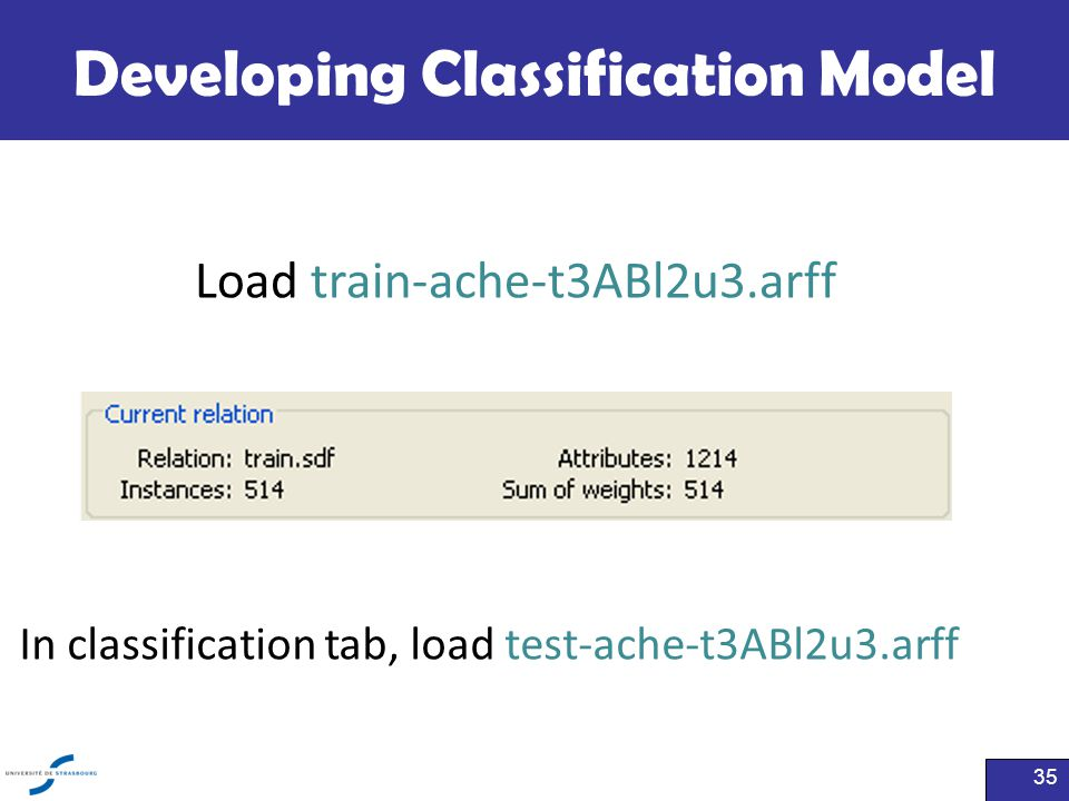 Developing Classification Model