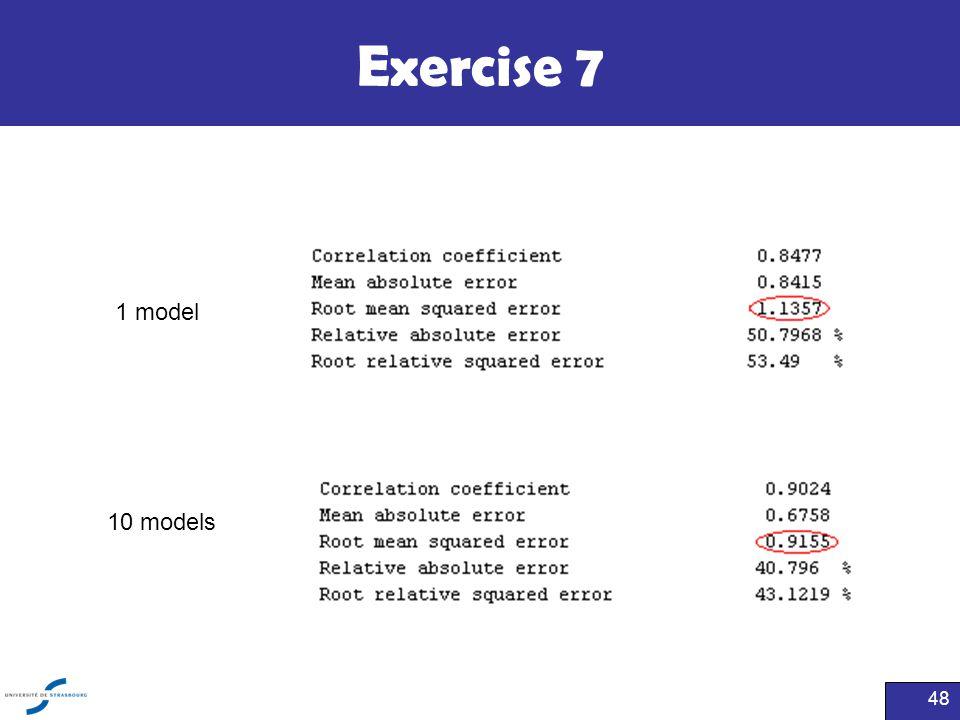 Exercise 7 1 model 10 models