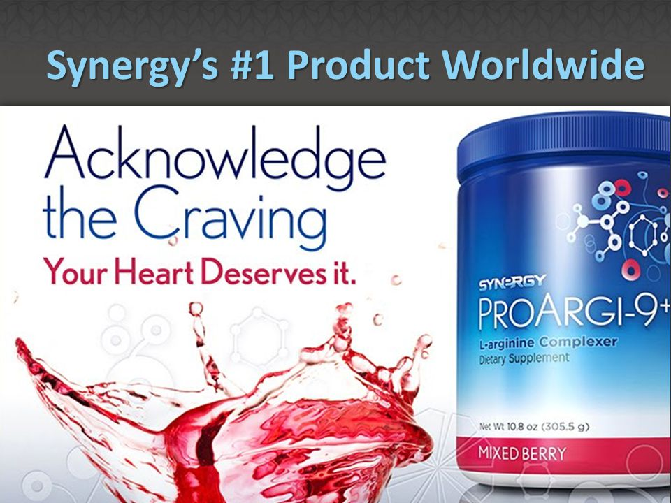 Synergy's #1 Product Worldwide