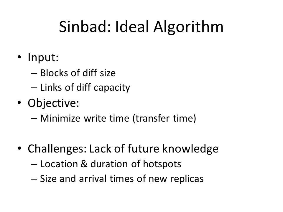 Sinbad: Ideal Algorithm