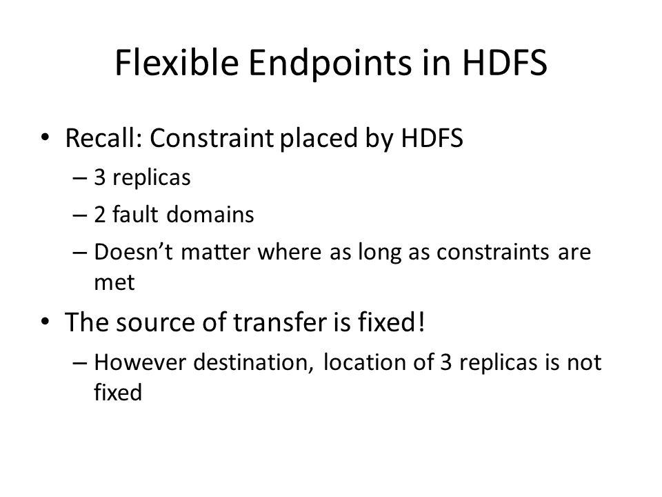 Flexible Endpoints in HDFS